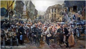 上海有位痴迷艺术创作的油画家孙玉宏